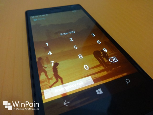 Mendalami Lock Screen di Windows 10 Mobile Build 10166 Terbaru