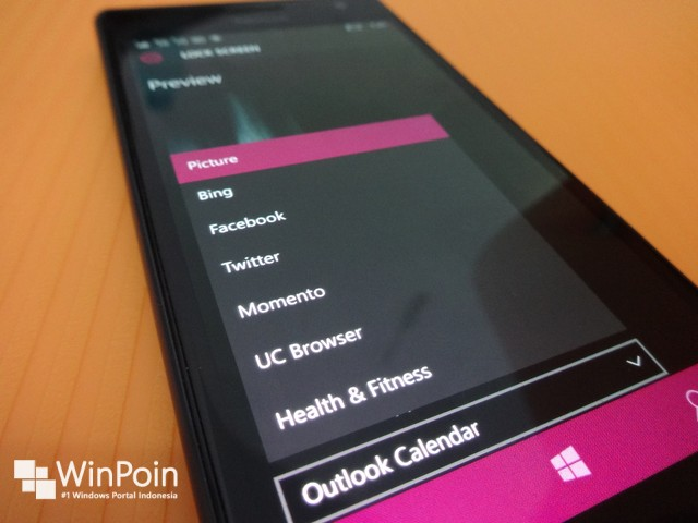 Mendalami Lock Screen di Windows 10 Mobile Build 10166 Terbaru