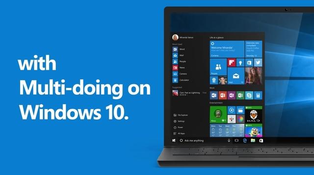 Multi-Doing — 5 dari 10 Alasan untuk Upgrade ke Windows 10 (Video)