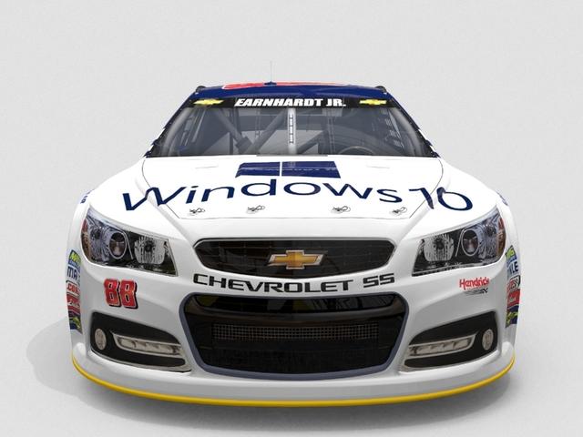Inilah Mobil Balap Windows 10 di NASCAR