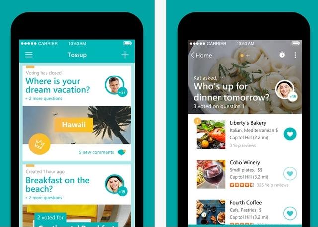 "Microsoft Merilis Aplikasi Keren ""Tossup"" untuk Android & iOS, Tetapi Tidak untuk Windows Phone"