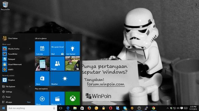 Pre-Order USB Flashdisk Windows 10 Sudah Mulai Dibuka
