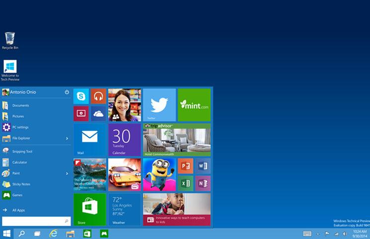 10 Hari Menuju Windows 10: Build Preview Windows 10 Dalam Sejarah (Bagian 2)