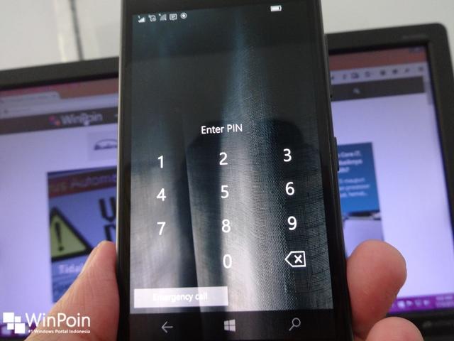 Smartphone Kamu Tidak Akan Disable Jika Salah Memasukkan PIN Berkali-kali di Windows 10 Mobile