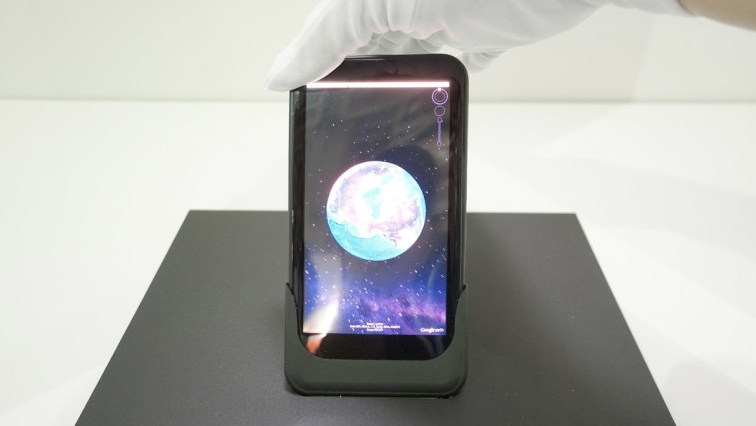 Wow..Seperti Inilah Prototype Smartphone yang Layarnya Bisa Ditekuk-tekuk Sesuka Hati