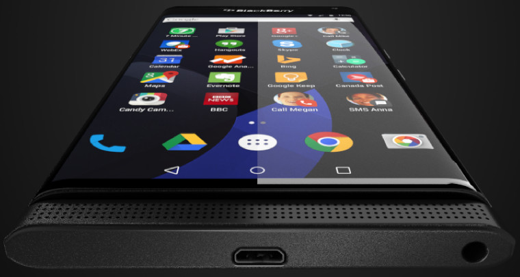 BlackBerry Akan Rilis Android Dengan Keyboard Slide-Out