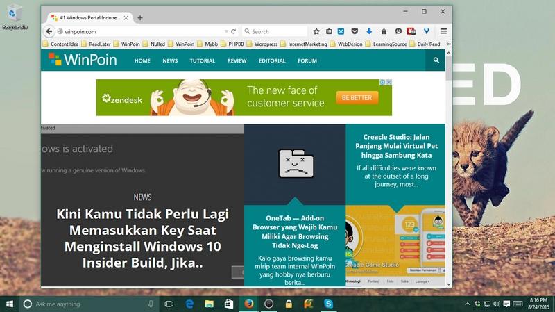 Penting: Clear Cache Browser Kamu Jika Tidak Mendapati Postingan Baru di WinPoin