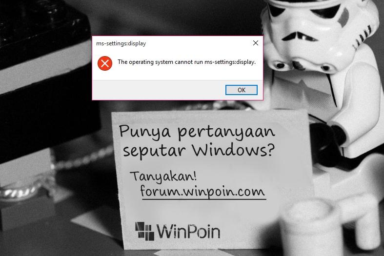 "Cara Mengatasi Error ""The Operating System Cannot Run..."" di Windows 10 — Tips #13"
