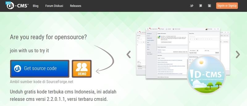 Inilah 4 CMS Keren Buatan Indonesia untuk Membuat Website Dengan Mudah