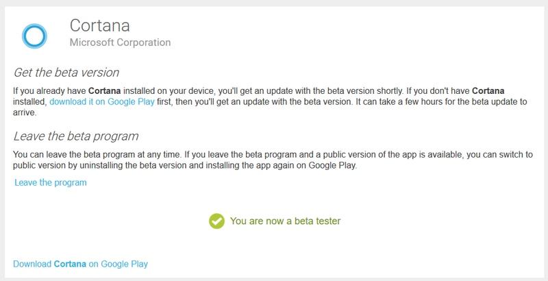 Wuih..Cortana Beta untuk Android Sudah Dirilis ke Publik!