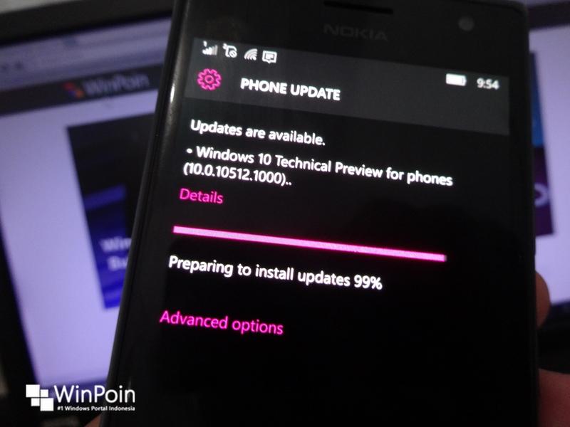 Semua Fitur Windows 10 Mobile Sudah Tertanam di Build 10512 — Fitur Sudah Komplit!