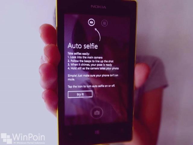 Sekarang Lumia Selfie Support TomSis, Tapi di Windows 10 Mobile
