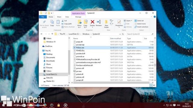 Cara Mengambil Screenshot Login Screen di Windows 10