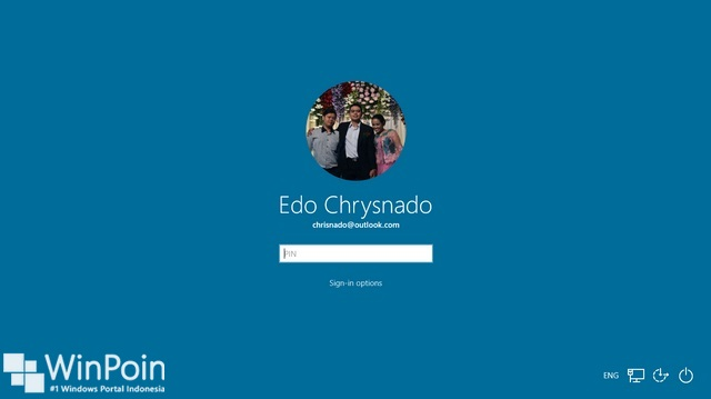 Cara Mengganti Background Login Screen di Windows 10