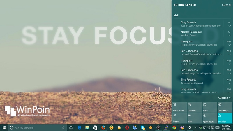 Cara Mengubah Warna Title Bar di Windows 10 (Build 10525) #Tips 19