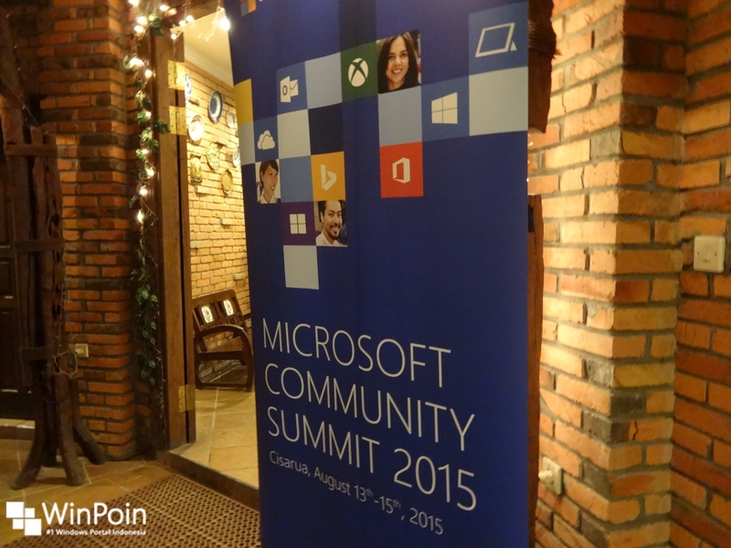 WinPoin Hadir di Microsoft Community Summit 2015