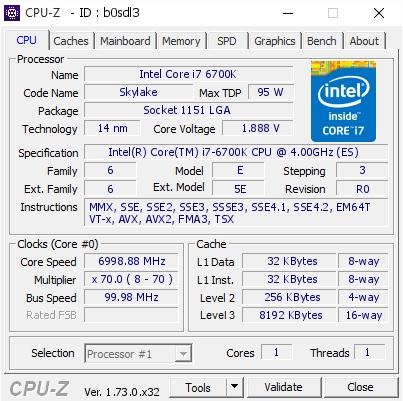 Overclocker Pro Ini Berhasil Memaksa Core i7 Skylake Tembus Hingga 7GHz!