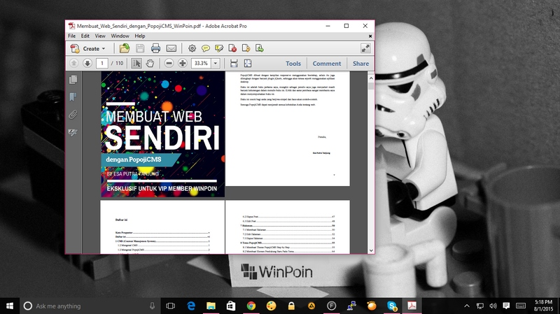 Download VIP Ebook: Panduan Membuat Web Sendiri dengan PopojiCMS