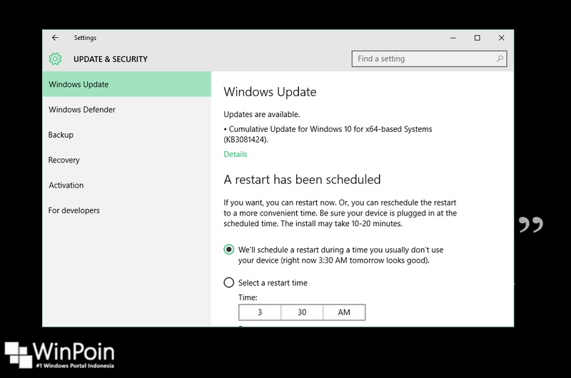 Sepaket Update Baru Saja Dirilis untuk Windows 10, Inilah Hal Baru Didalamnya