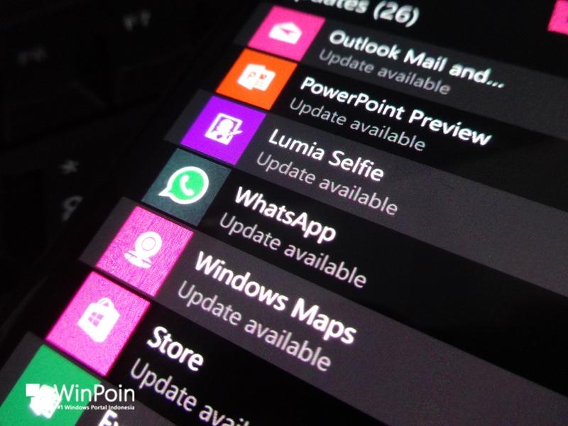 Cek WhatsApp di Windows Phone Kamu, Ada Update Baru yang Dirilis