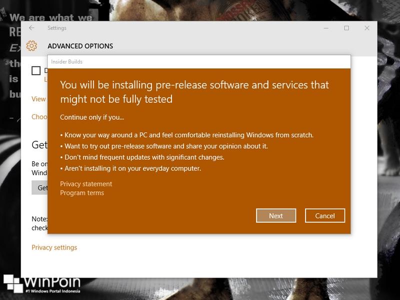 Windows 10 Build 10525 Dirilis, Sudahkah Kamu Mendapatkannya??
