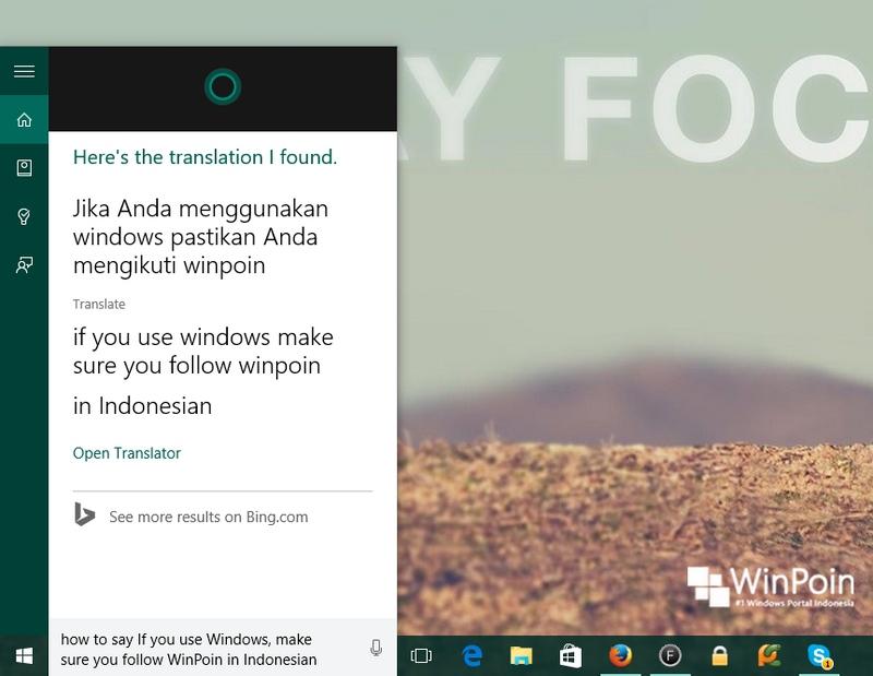 Cortana Sekarang Bisa Mentranslate Bahasa, Ayo Dicoba! (Review)