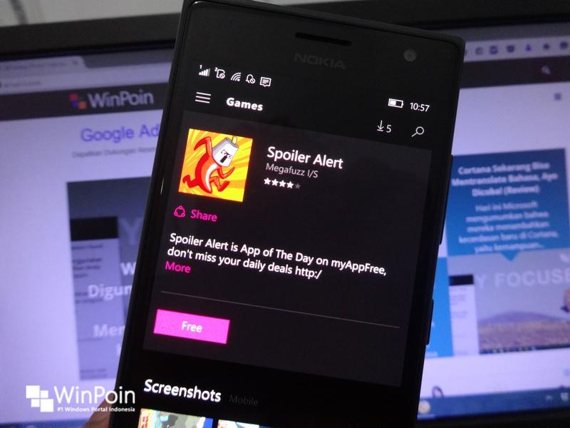 Game Spoiler Alert Sedang Digratiskan di Windows & Windows Phone Store, Download Yuk!