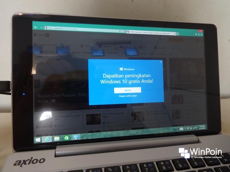 Cara Upgrade Axioo Windroid 9G ke Windows 10 (Beserta Tips Penting yang Perlu Kamu Ketahui)