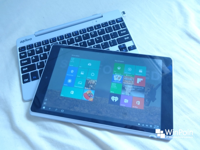 Review Axioo Windroid 9G: Tablet Hybrid Dual Boot Windows dan Android