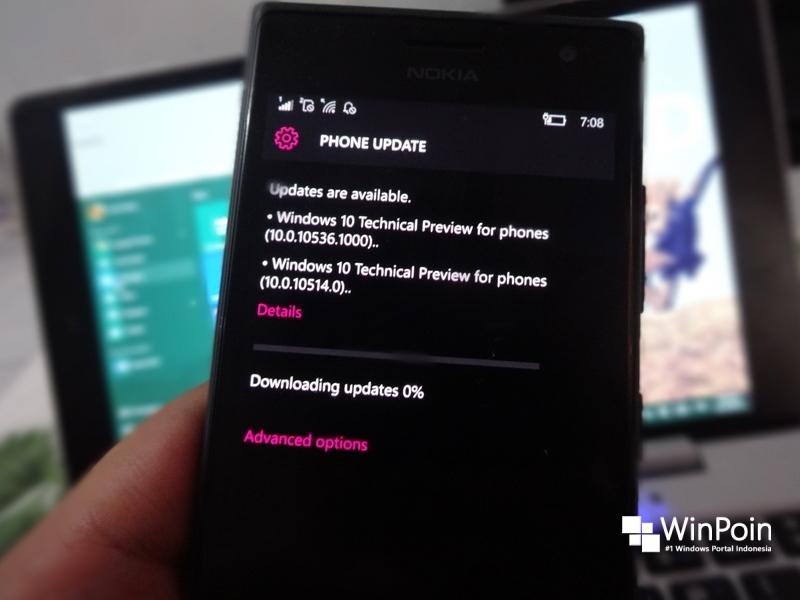 Windows 10 Mobile Insider Build 10536.1004 Sudah Dirilis, Ada yang Berani Update?