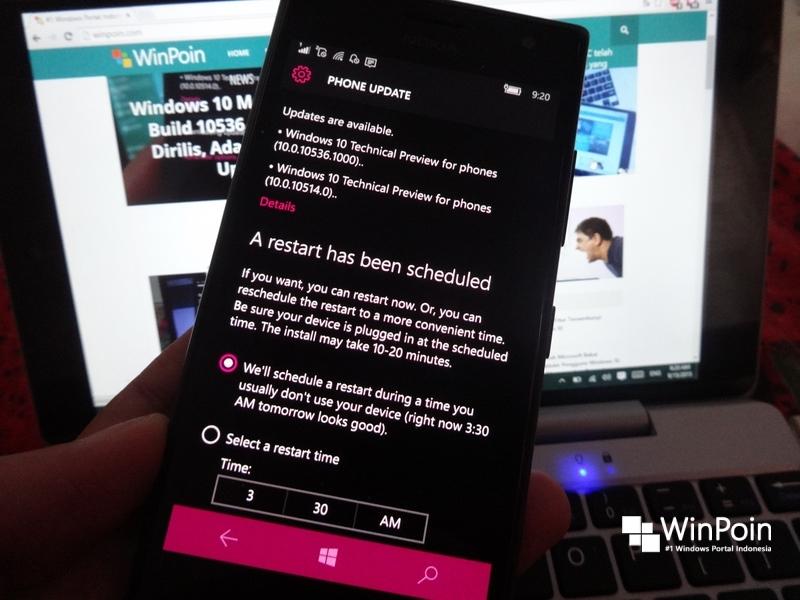 7 Hal Seputar Proses Update Windows 10 Mobile Build 10536 yang Sebaiknya Kamu Ketahui