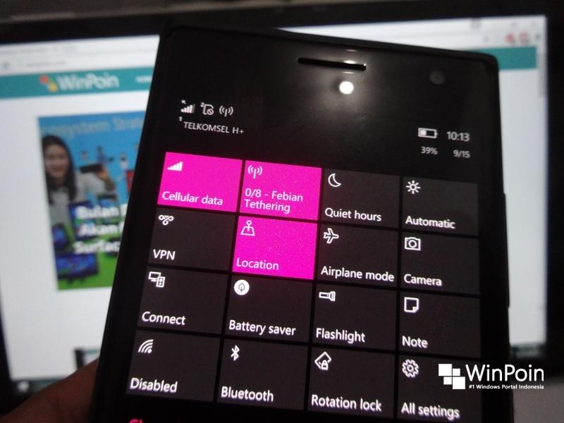 Seperti Inilah Experience (Fitur dan Bugs) di Windows 10 Mobile Build 10536 (Review)