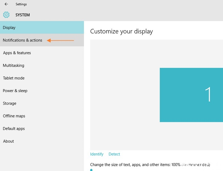 Cara Mengatur Action Panel di Windows 10
