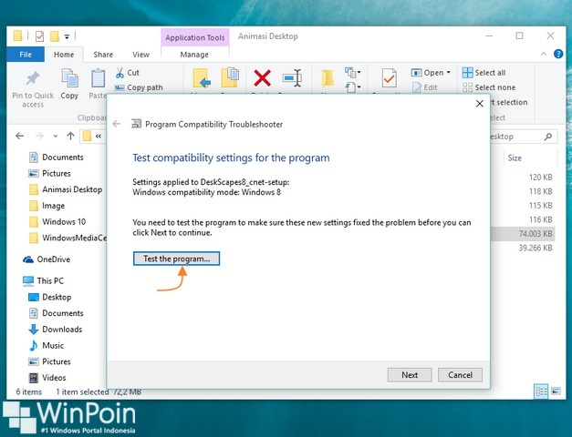 Cara Menampilkan Animasi Desktop di Windows 10 Menggunakan DeskScapes 8
