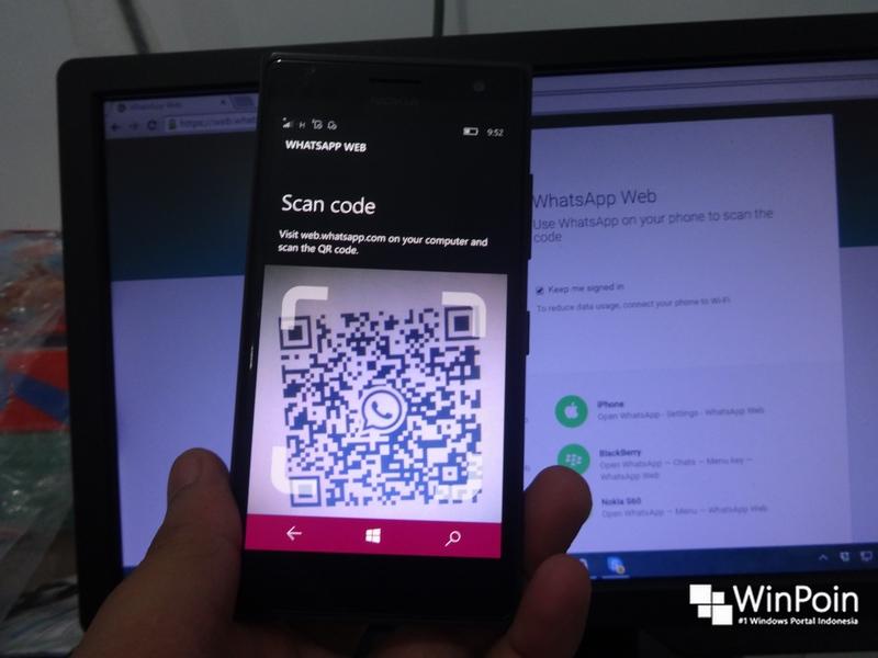 Cara Menggunakan WhatsApp Web Bagi Kamu Pengguna Windows Phone