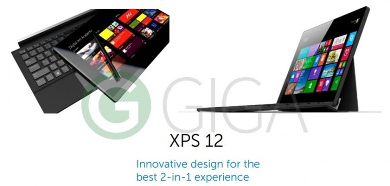 Inilah Versi Baru Dell XPS 12, 2-in-1 PC Windows 10 Ala Surface