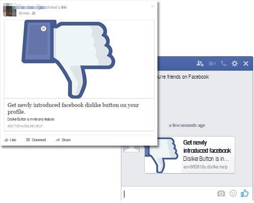"""Jangan Percaya Kalau Ada Orang Berbagi Tombol """"Dislike"""" di Facebook Kamu, itu Scam!"""
