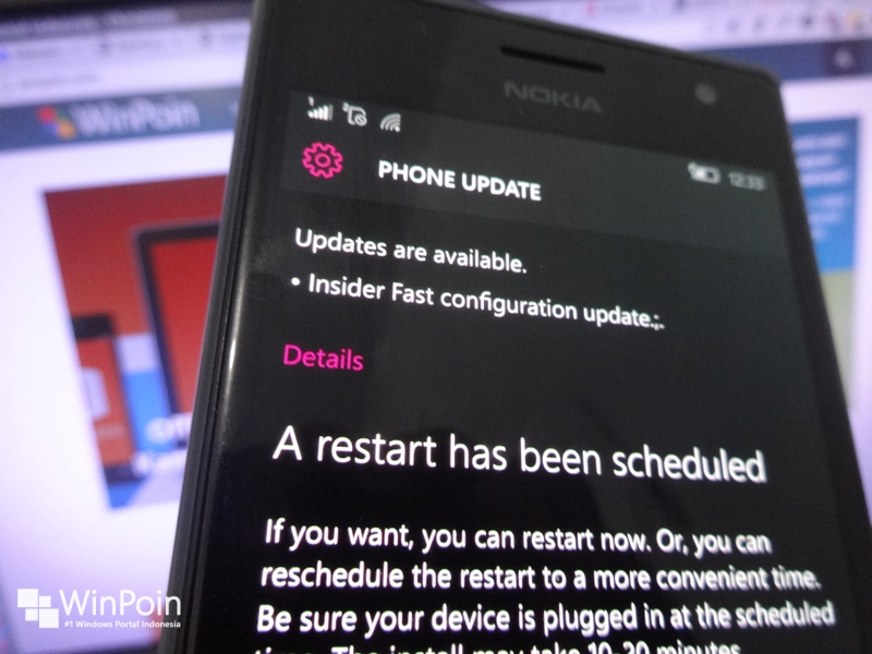 "Cek Phone Update Kamu, Ada ""Insider Fast Configuration Update"" di Windows 10 Mobile"