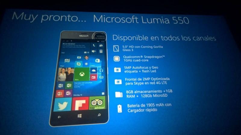 Inilah Spesifikasi dan Tampilan Lumia 550 (Official) yang Bocor ke Publik