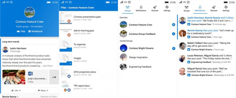 Cobain Aplikasi Outlook Groups di Windows 10 Mobile dan WP 8.1