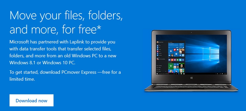 Sekarang Kamu Bisa Memindahkan File di Windows XP ke Windows 10 Lebih Cepat dengan PCmover Express (Gratis Terbatas!)