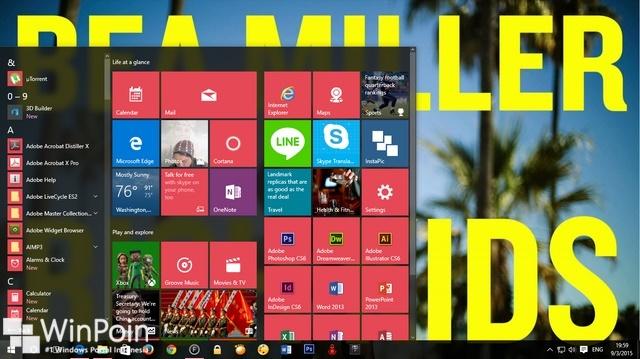 Cara Menampilkan Start Menu Secara Full Screen di Windows 10