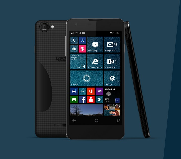 Yezz Bakal Memproduksi Smartphone Windows 10 Mobile