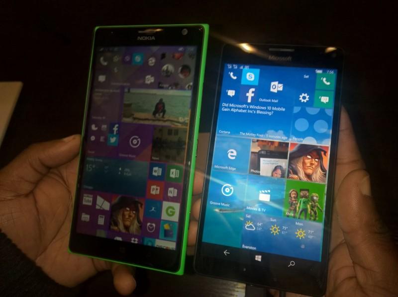 Lumia 1520 VS Lumia 950 XL