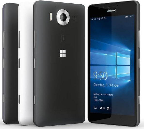 Muncul Lagi Bocoran Desain Lumia 950 (Dengan Wallpaper Khas Windows 10 Didalamnya)