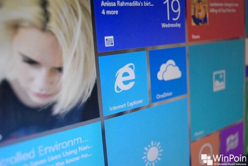 Screenshot Windows 10 Build 10551 Telah Bocor
