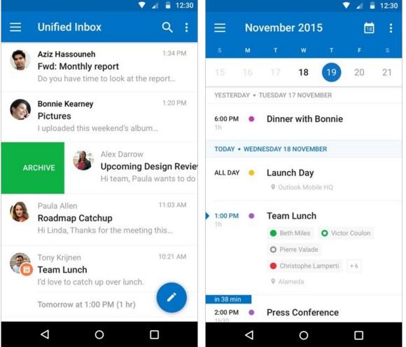 Outlook untuk Android & iOS Diupdate Agar Lebih Keren Lagi