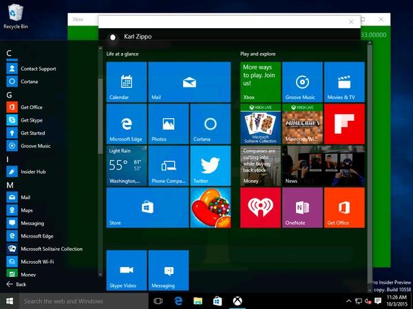 Windows 10 Build 10558 Telah Bocor, Yang Baru Ada Apps Messaging dan Skype Video