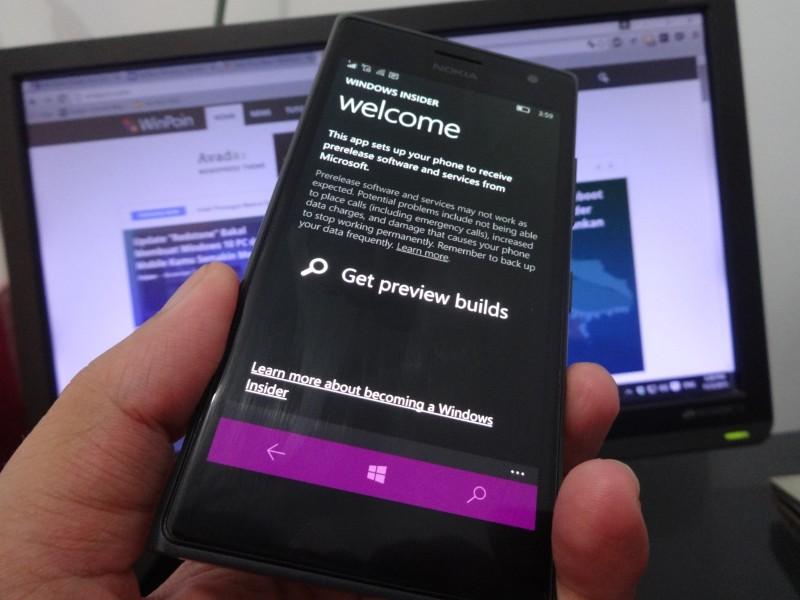 Cek Windows 10 Mobile Kamu, Ada Update Insider App yang Dirilis