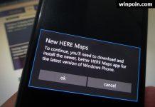 HERE Maps Tidak Support Windows 10 Mobile RTM (dan Official HERE Menyarankan Kamu Pake Windows Maps Saja)